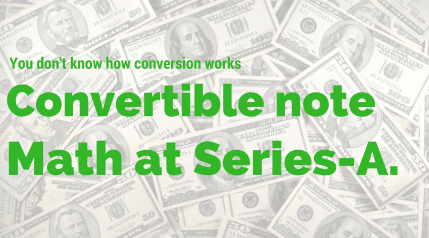 convertible note startup fundraise pitchdeck