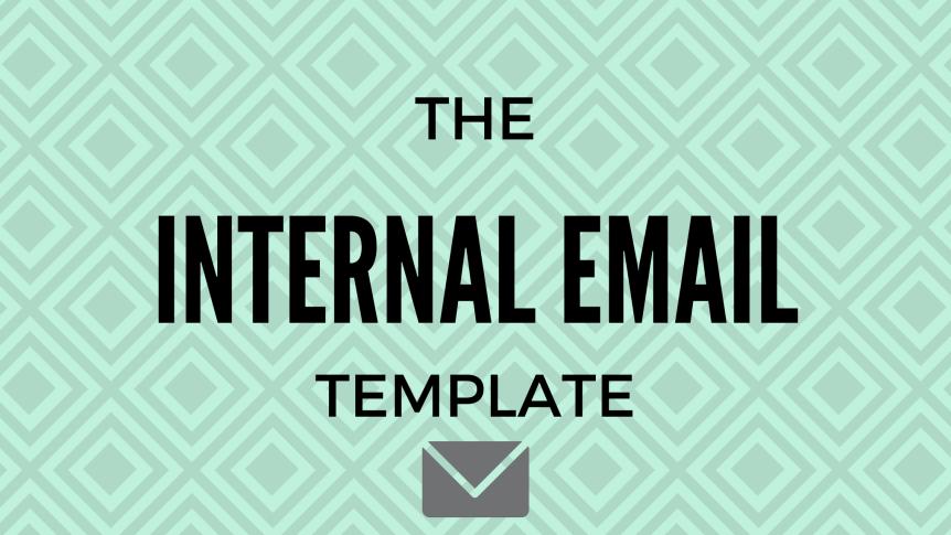 Internal startup email memo