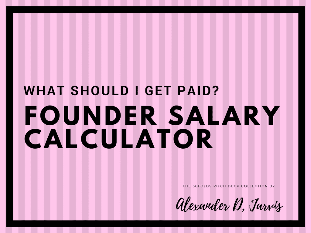 Founder salary calculator