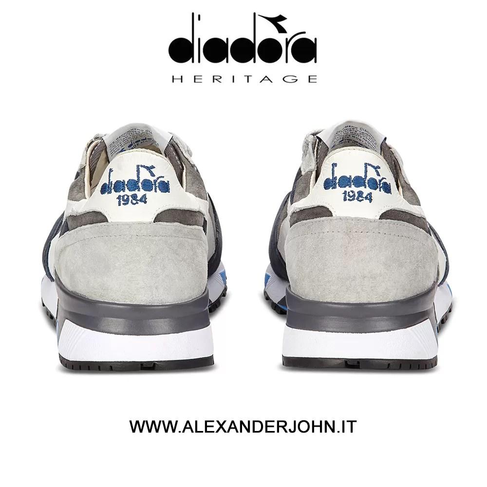Trident 90 Grigio Heritage Kcgzq1h4wv Blue Bianco Art Diadora S Uomo jqc5SA34RL