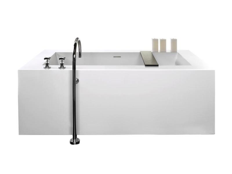 Cube Soaking Bathtub Alexander Marchant