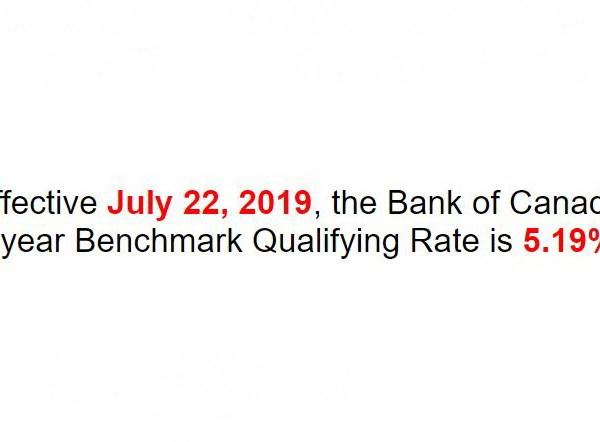 Отличные новости: квалификационная ставка Банка Канады уменьшается до 5,19%!