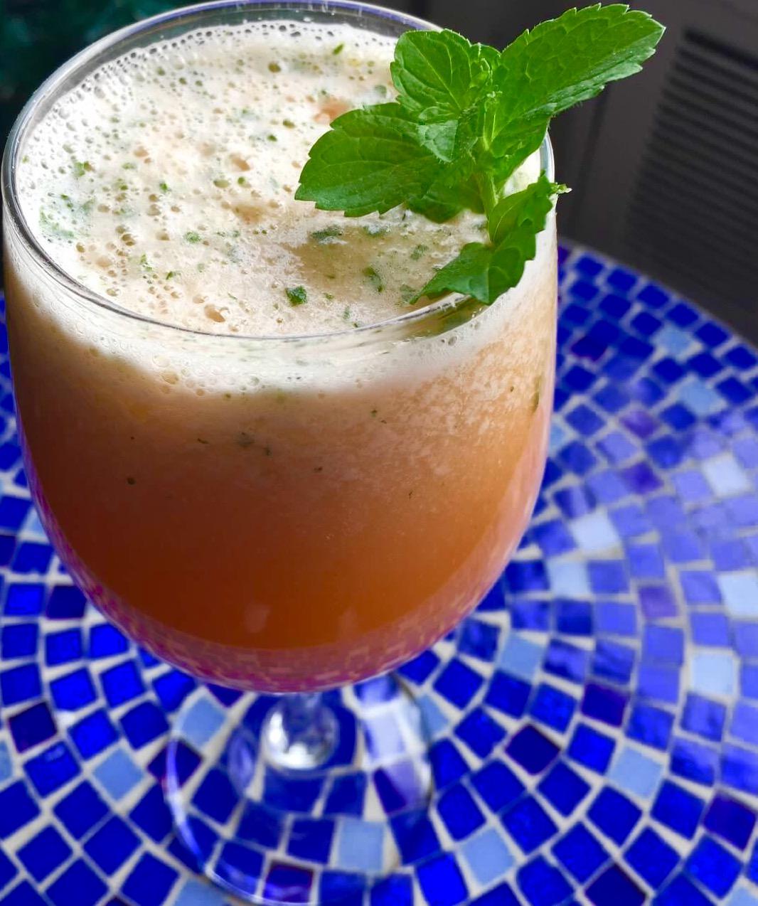 Cantaloupe Mango Agua Fresca