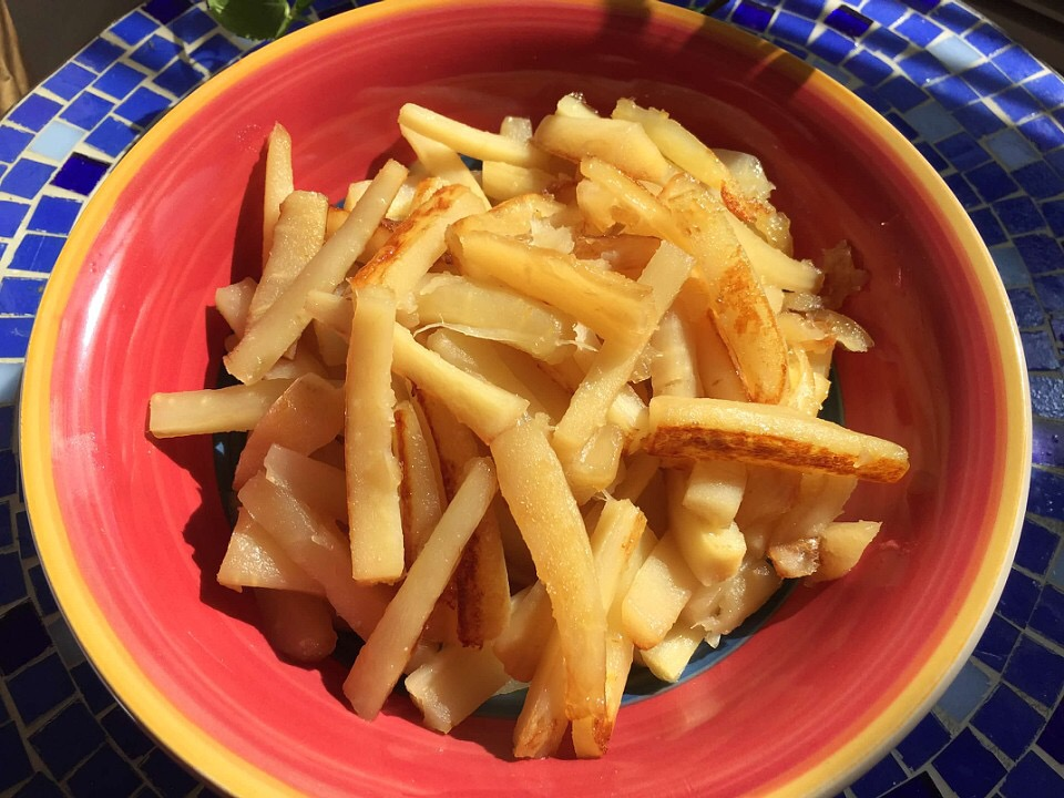 Maple Glazed Parsnips from Alexandersmom.com