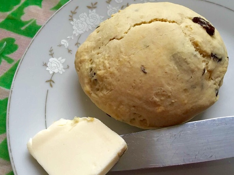 Irish Soda Bread Scones from Alexandersmom.com