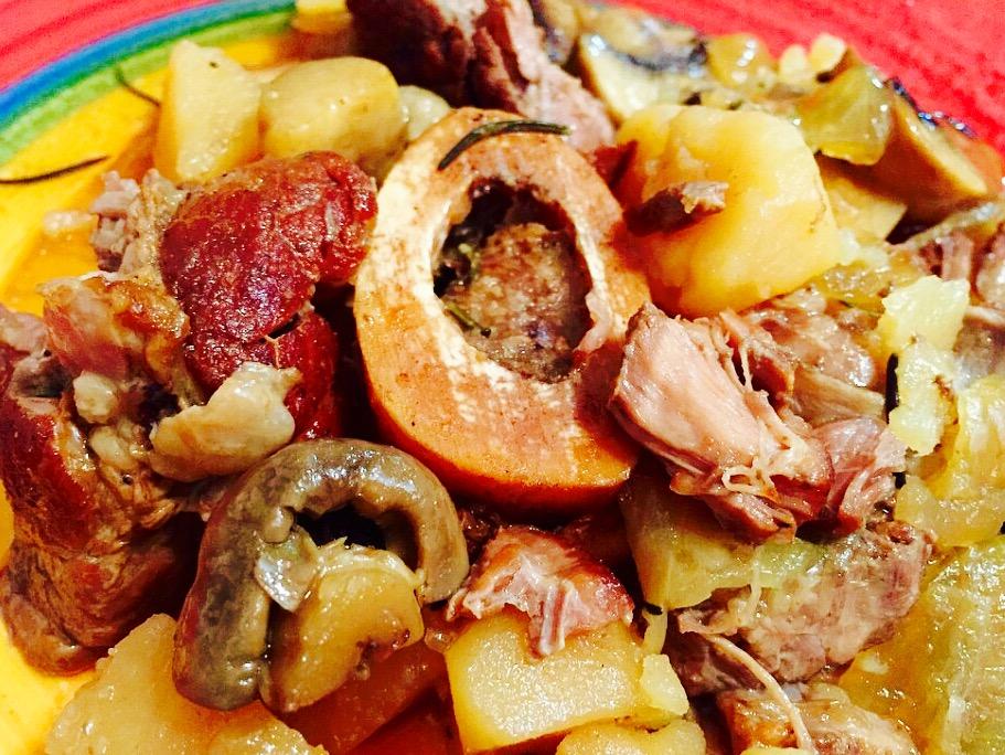 Succulent Slow Cooker Beef Shank from Alexandersmom.com
