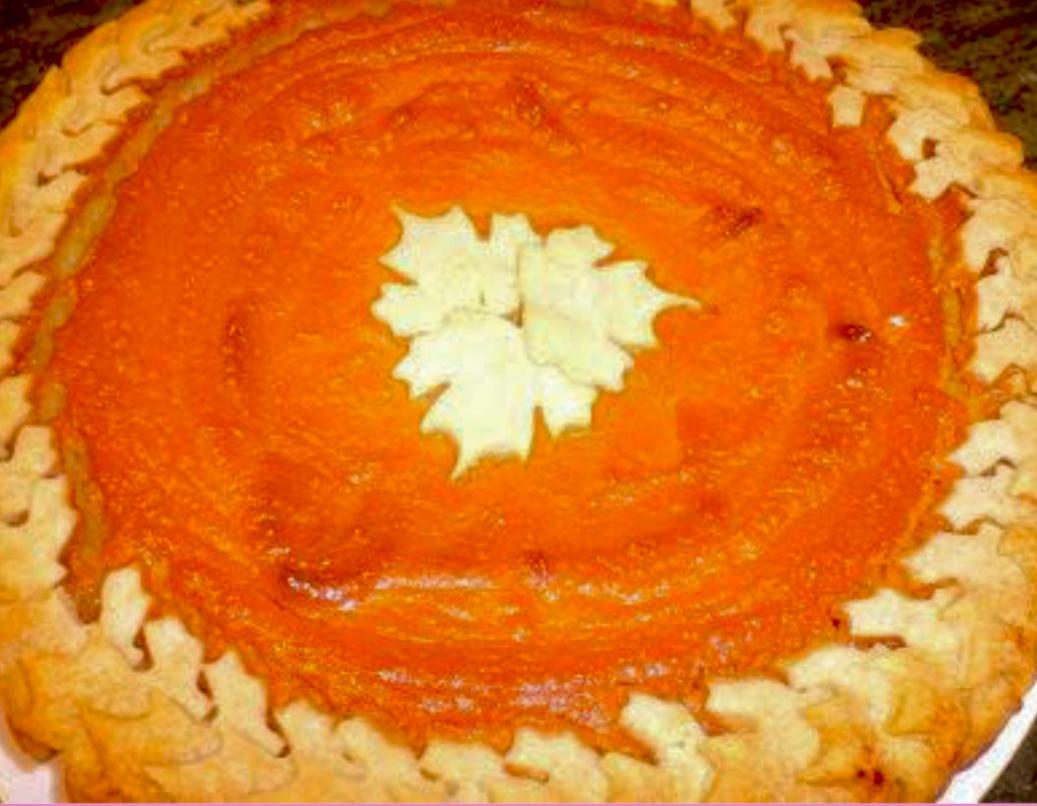 Sweet Potato Pie from Alexandersmom.com