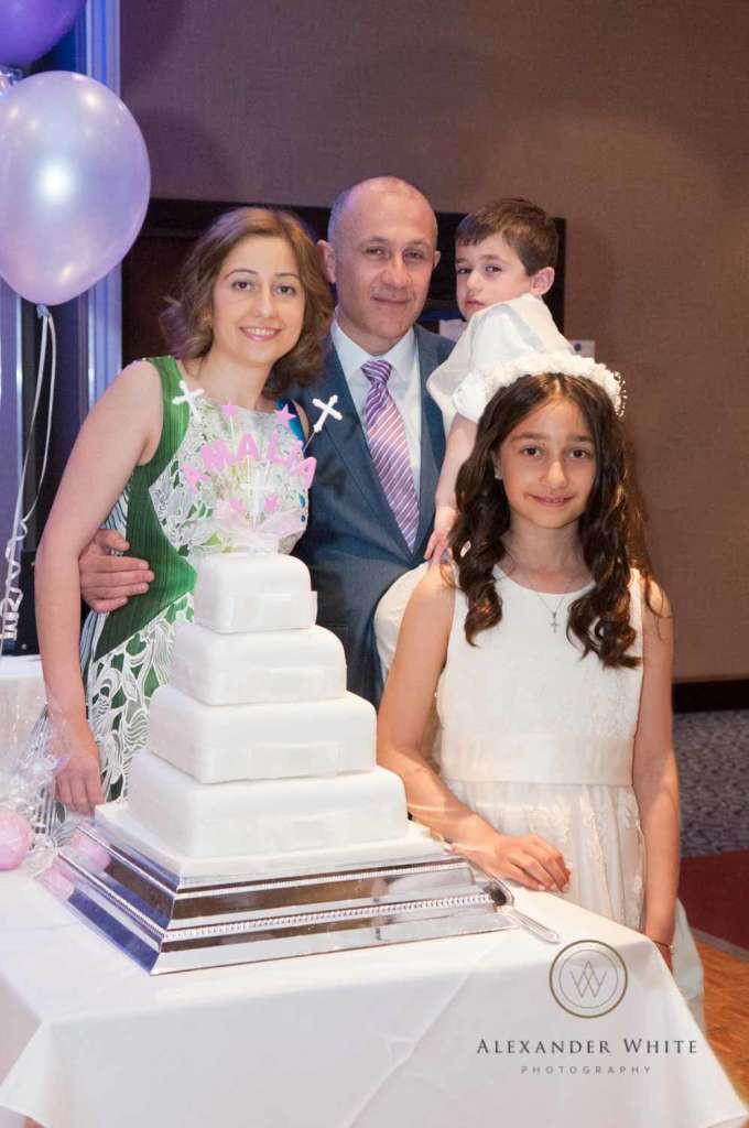 When I say it felt like a wedding...they even went as far as having a wedding cake!