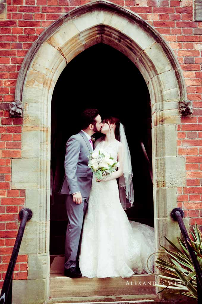 Wedding Photographer in Horsham shooting a wedding at StMarks church in West Sussex (5)