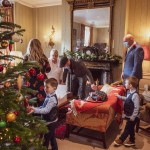 Christmas time wedding celebration at Ockenden Manor