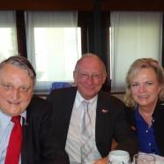 Mit Eberhard Irlinger und Franz Maget (2013)