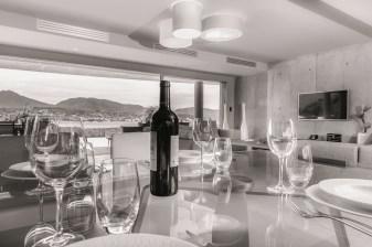 Waterfront villa for rent in Corisca