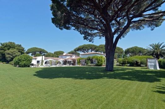 Une belle propriété dans les Parcs de Saint Tropez