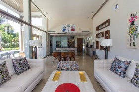 Elegant living areas