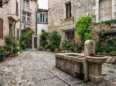 Courtyard La Placette in Saint Paul de Vence