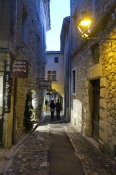 Street of Saint Paul de Vence village