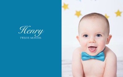 Henry's First Year | New England Photographer