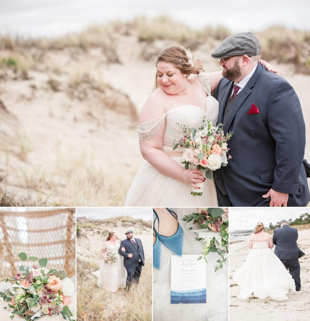 Captain Linnell House Wedding | Corey + Jessie | Cape Cod