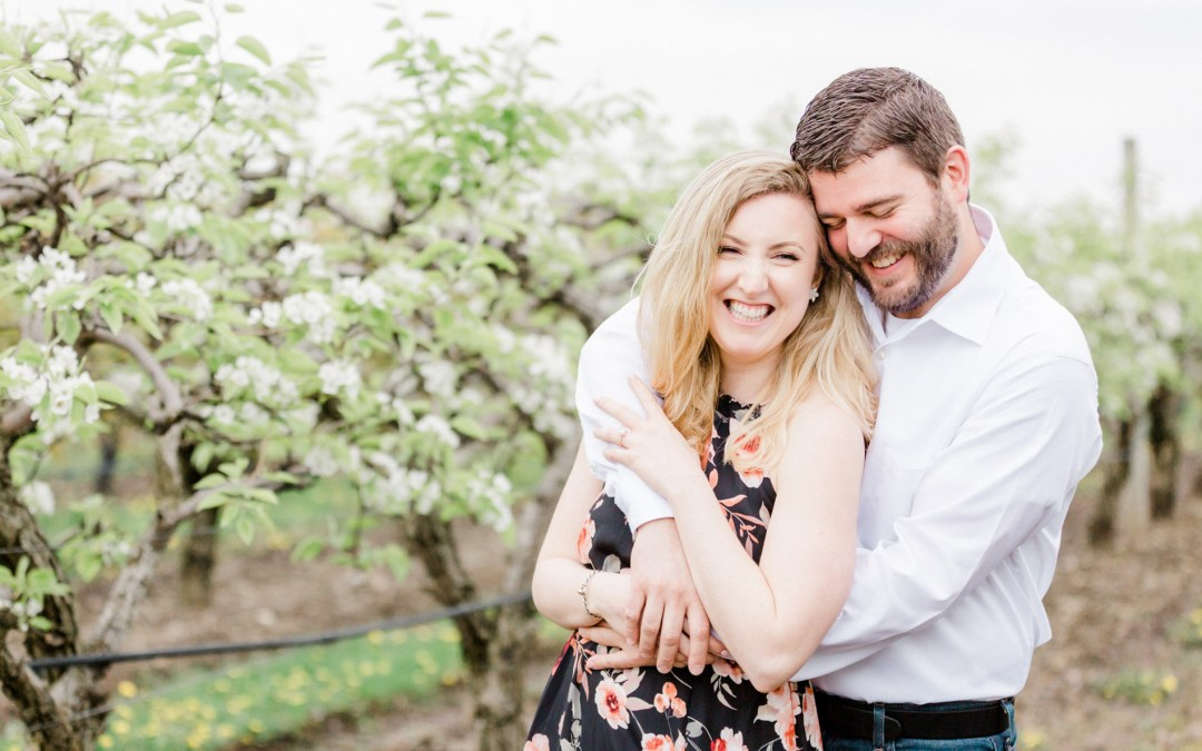 Belkin Family Lookout Farm Engagement Session | Rachel & Joe