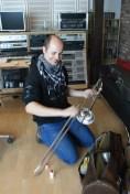 Gunnar Fischer, trombone