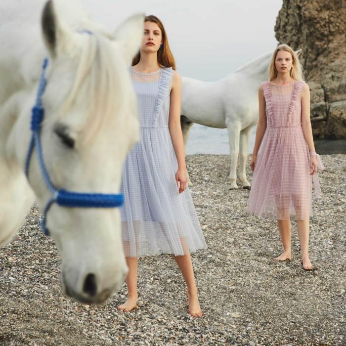 Creative Direction & Storytelling Alexandra PERRIN - shot by James Robjant - Models Linde Derickx & Nienke Kuipers - Malaga/SPAIN