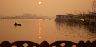 Dal-Lake-sunset