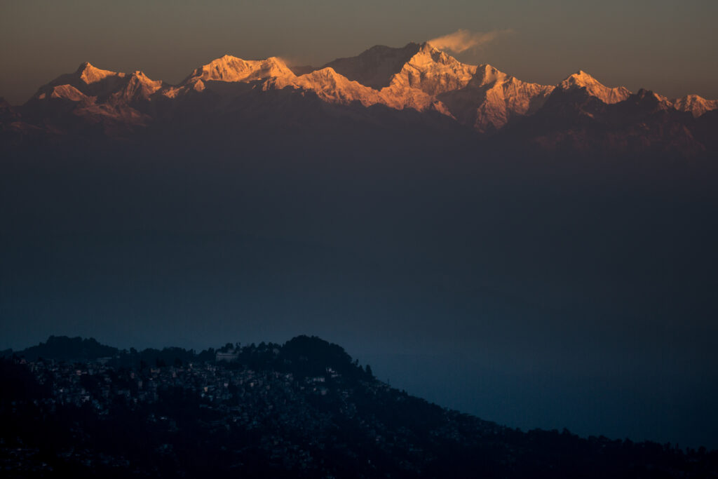 Darjeeling from Tiger-Hill