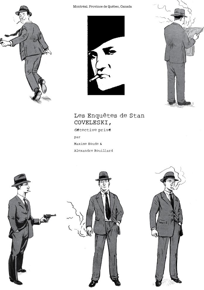 Coveleski, détective privé