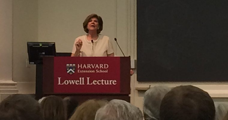 2017 Harvard Extension School Lowell Lecture: Ann Compton
