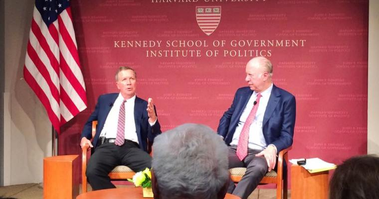 Harvard Kennedy School Institute of Politics: JFK Forum, Ohio Governor John Kasich