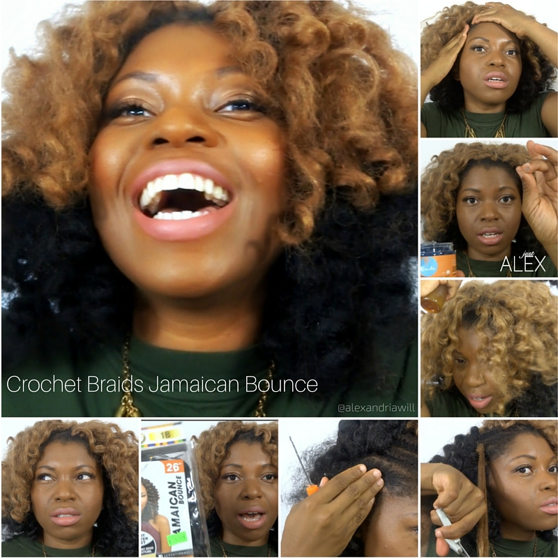 crochet braids with jamacian bounce hair grid alexandriawill