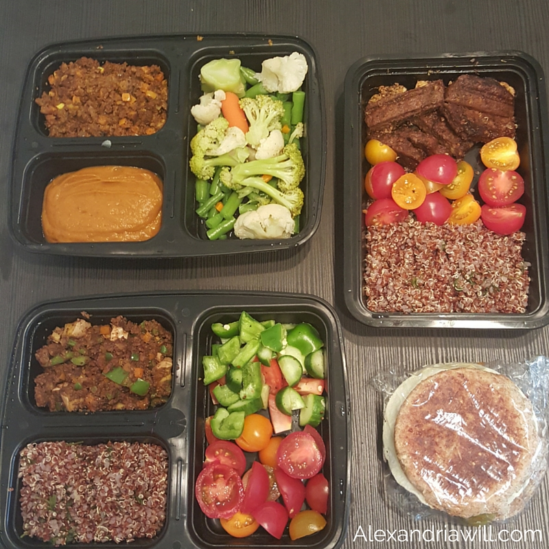 Post for meal prep breakfast and lunch options vegetarian massy 30 day