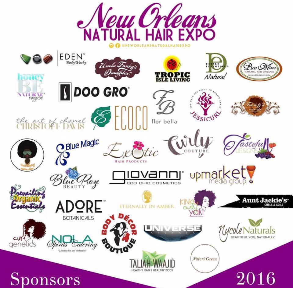 NO Expo 2016 sponsors