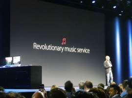 Apple music will cost £9.99 in UK, €9.99 in the rest of Europe
