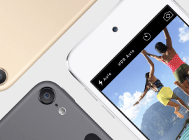 Brand new iPod touch launches, 6x faster and new colours
