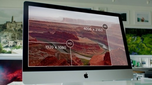 iMac with 5K Retina Display resolution diagram