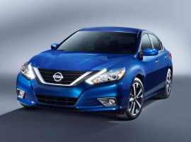 Nissan launches new Altima for 2016