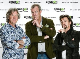 Clarkson and crew have started filming the Amazon car show