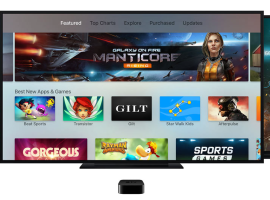 Over 2,600 apps are now available for the new Apple TV