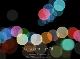 Apple sends out invites for iPhone 7 event