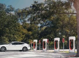Tesla Supercharger hoggers will be charged $0.40 per minute