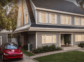 Tesla has now started manufacturing its solar roof tiles