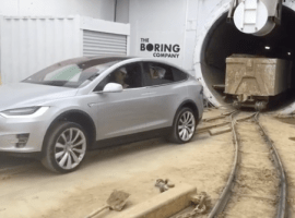 Tesla shares video of Model X pulling 250,000 lbs rail carts