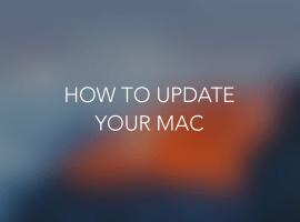 How To: Update your Mac