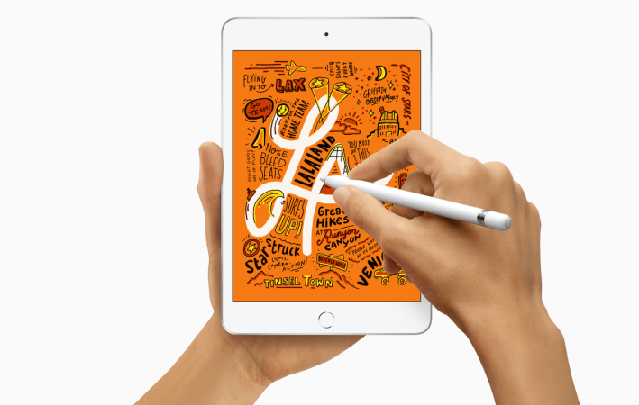 New iPad mini 5 launched today, starting at £399 with Apple Pencil support