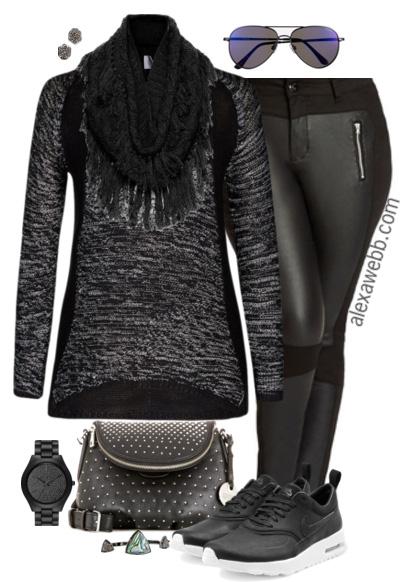 Plus Size Fashion - Weekend Casual Outfit - Alexa Webb - alexawebb.com