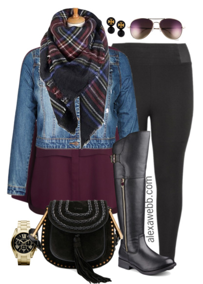 Plus Size Outfit Ideas Plus Size Leggings Alexa Webb