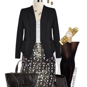 How to wear sequins to work - Plus Size Fashion - Alexa Webb - alexawebb.com