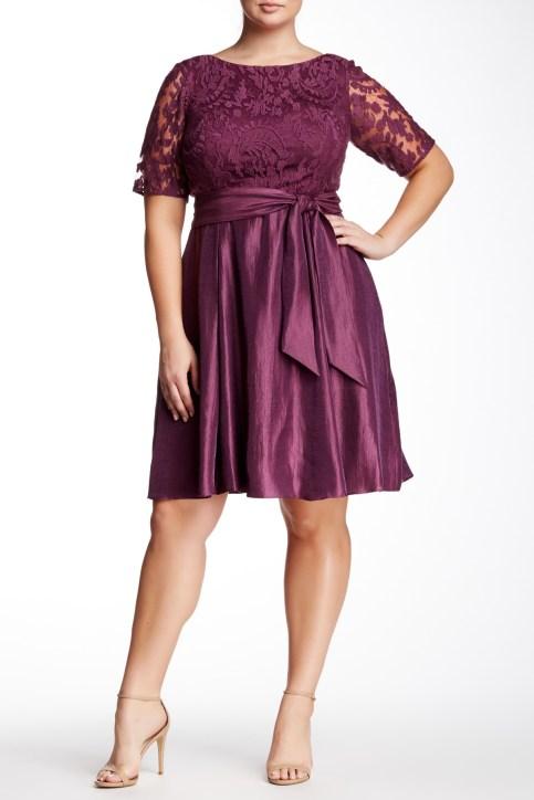 Plus Size Evening Wear Dress 5 Alexa Webb