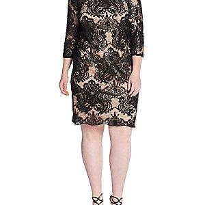 27 Plus Size Party Dresses with Sleeves that Rock! Plus Size Fashion - Alexa Webb alexawebb.com